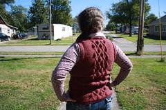 Cardamom Vest (durandir) Tags: knit vests cardamomvest cabling