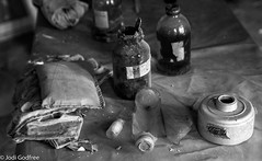 Chemicals (Dave and Jodi Piddington) Tags: chernobyl ukraine holiday decay abandonedbuildings death history nucleardisaster accident travel dark tourism darktourism photography architecture nuclear disasters adventure kiev blackandwhite