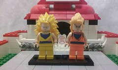 ssj3 goku comparison (teamfourstud) Tags: 3 decool bootleg custom dragonballz dragon ball z supersaiyan dragonballgt gt dragonballsuper dbs minifigure figure mini decals dragonball minifigures figures world martial arts tournament ssj ssj3 haul printing 3d shapeways bragonball dbz lego goku super saiyan