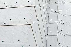 Dots II (zouberiphotography) Tags: dot dots church abstract vienna wien austria sterreich architecture detail details modern exterior lines white building steinhof kirche wall nikon d7000