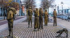 FAMINE MEMORIAL AT CUSTOM HOUSE QUAY IN DUBLIN [ARTIST - ROWAN GILLESPIE]-122184 (infomatique) Tags: famine greathunger faminememorial customhousequay northwall dublin ireland infomatique williammurphy rowangillespie