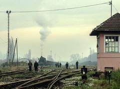 All in a Day's Work (Kingmoor Klickr) Tags: tuzla kreka mines kreigslok 33064 lukavac baureihe52 bosniaherzegovina industrial railway railfreight