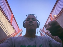 You'll See (Blue Rave) Tags: iphonephotography iphoneography sandiego steps stairs staircase 2016 self myself ego me bloke dude guy male mate people selfie boseheadphones headphones headset california ca