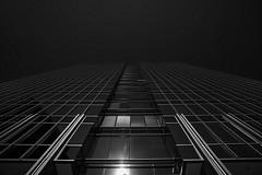 """Things are looking up..."" (Buckhead) (HamWithCam) Tags: hamwithcam hwc atl atlanta buckhead 5d2 1740l bw blackandwhite architecture"