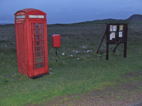 2016 # 63, A Telephone Box APost Box & Notice Board, Sanna Ardnamurchan, Highland 2.