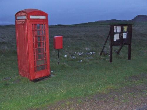 2016 # 63, A Telephone Box APost Box & Notice Board, Sanna Ardnamurchan, Highland 2.
