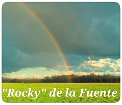 Rocky (in Explore) (dianealdrich - Please read my profile) Tags: rockydelafuente rocky presidentialcandidate 2016 reformparty rainbow hopeful alternative clouds dramaticscene