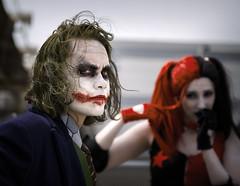 The Joker (R.o.b.e.r.t.o.) Tags: ilcavaliereoscuro harleyquinn romics comics fumetti film movie cosplay cosplayer 2016 ottobre ritratto portrait rome roma italy italia models people dccomics modelli ragazza ragazzo boy girl thedarkknight thejoker