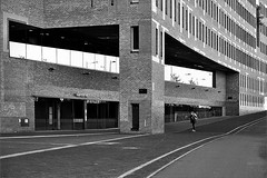 Railway Station (herman van hulzen) Tags: hermanvanhulzen nederland netherlands breda railwaystation architecture architectuur koenvanvelsen quadrat people skateboarding