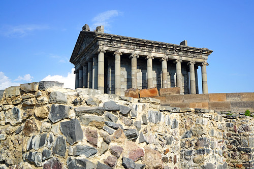 Hellenistic Temple of Garni, Armenia