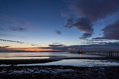 Serenity (Budoka Photography) Tags: bluehour serene calm tranquility sea seascape seaside water waterscape cloud heaven sunset jetty island hven bluesky longexposure landskrona dusk outdoor