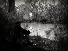 The Fisherman (bushman58929) Tags: fisherman river pea c ful peaceful