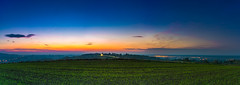 Winter Incoming (The freedom state of Jabamba) Tags: lapczyza poland polonia polska panorama pano sight view nature natura sunset tramonto dusk imbrunire colorful day light clouds longexposion nikon nikkor d750 2485mm field night allaperto campi campagna lanscape sky