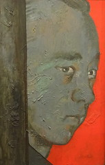 William John Christopher Vassall by Cecil Beaton (1966) (Snapshooter46) Tags: npg nationalportraitgallery london artgallery portrait williamjohnchristophervassall russianspy artist cecilbeaton painting oiloncanvas