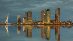 Wilhelminapier - Rotterdam (wimzilver) Tags: rotterdam holland nederland wilhelminapier wimboon wimzilver canoneos5dmarkiii canonef2470mmf28liiusm canon pscc reflections reflecties
