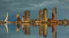 Wilhelminapier - Rotterdam (Wim Boon (wimzilver)) Tags: rotterdam holland nederland wilhelminapier wimboon wimzilver canoneos5dmarkiii canonef2470mmf28liiusm canon pscc reflections reflecties