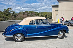 1956 BMW 502 Cabriolet by Baur at Amelia Island 2015 (gswetsky) Tags: amelia island concourse delegance rm auction antique european german
