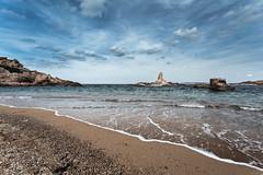 Pregonda (Dami RF) Tags: paisaje landscape mar playa platja beach island balearic sea mediterranean paisatge pregonda menorca clouds 1740