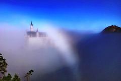 Neuschwanstein im Nebel. (Oberau-Online) Tags: neuschwanstein nebel schwangau bayern deutschland de