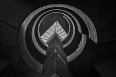 Spiral Staircase (Christian Ferrari) Tags: staircase bw mono design black white light architecture