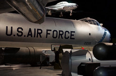 U.S. Air Force (Richard Micco) Tags: convair lockheed b36 t33 peacemaker shootingstar nationalmuseumoftheunitedstatesairforce usaf nikon d5000