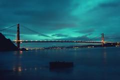 Verse Chorus Verse (Thomas Hawk) Tags: california goldengatebridge kirbycove marin marincounty marinheadlands sanfrancisco sliceoftimesf usa unitedstates unitedstatesofamerica bridge sunrise fav10 fav25 fav50