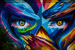 Eye for details (CecilieSonstebyPhotography) Tags: grenada spain art color colorful colour colourful colours decoration eyes grafitti picture urban wall