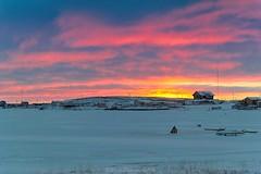 OCT_5154s (savillent) Tags: tuktoyaktuk nwt northwest territories sunrise landscape photography snow ice sky clouds arctic north climate environment savillent november 2016
