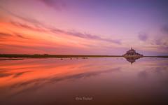 La fin du jour (erictrehet) Tags: architecture extrieur eau reflets rivage paysage hoya normandy lumire nuage sunset light normandie nikon 1835 d610 couleur
