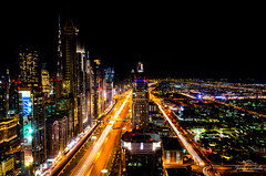 Dubai landscape. (Jordi Corbilla Photography) Tags: dubai millenniumtowers nikon d7000 18mm jordicorbilla jordicorbillaphotography landmark