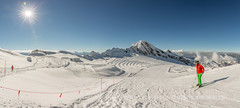 Kitzsteinhorn (Tim Ertl) Tags: sunshine zell skirt am blue winter skier see slopes alps sky snow glacier austria sports kitzsteinhorn