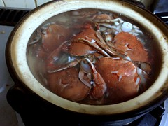 Crab hot pot @ Home (Fuyuhiko) Tags: crab hot pot home 鍋
