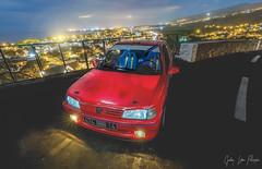 """La lionne Rouge ... Peugeot Sport """" Reunion Island 974 """" (Geoffrey Ligdamis ( GL Photographie )) Tags: paysage canon saintpaul tamarins car974 carsport reunion beautiful youngtimers peugeot routes peugeotspôrt 106sport 106sport974 106rallye iledelareunion paradis paradise oldcar"""