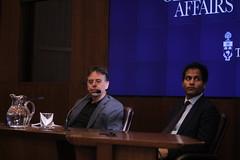 Jameel Jaffer & Ron Deibert (Quistian) Tags: drones usa foreign policy jameel jaffer rondeibert citizens lab uoft 2016 201611 20161115