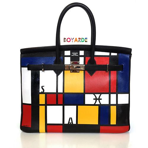 Bespoke Hermes Mondrian Birkin