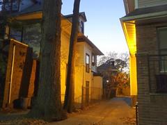 Street at Dusk (dimaruss34) Tags: newyork brooklyn dmitriyfomenko image evening light s
