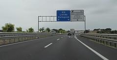 A-2-25 (European Roads) Tags: a2 trrega bellpuig mollerussa lleida catalunya espaa autova