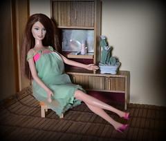 DREW (pe.kalina) Tags: drew barbie fashion fever mattel doll dollhouse vintage furniture roombox clothes diorama