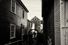 Alley--Provincetown (PAJ880) Tags: alley commercial t provincetown ma lower cape cod bw mono