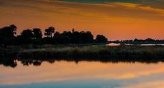 Lighthouse Sunset (jfusion61) Tags: orange stmarksriver gulf water coast relflection lighthouse leegraduatedfilter 2470mm d810 nikon autumn fall sunset stmarksnationalrefuge stmarks florida