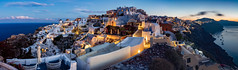 Santorini (adrianchandler.com) Tags: canon5dsr landscape dawn mediterranean outdoor panorama oia sea morning coast santorini buildings adrianchandler coastal island architecture greece town europe exterior seaside usu