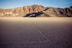Racetrack Lines (matthewkaz) Tags: theracetrack racetrack deathvalley drylake racetrackplaya desert mountains inyomountains california 2014