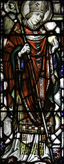 St Augustine in Pontificals (Lawrence OP) Tags: newyork saint stainedglass hippo augustine bishop doctorofthechurch stvincentferrer