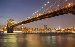 Brooklyn Bridge (Jemlnlx) Tags: world park new york city nyc bridge ny tower skyline brooklyn canon eos one freedom is downtown mark manhattan iii 911 wide center kings 5d usm trade ef f4 1635mm