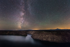 Cove Palisades (Sandra Herber) Tags: night oregon stars astrophotography cascades milkyway thecovepalisadesstatepark