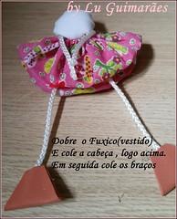 20150815_155227 (Artesanato com amor by Lu Guimaraes) Tags: artesanato fuxico boneca decoração tecido enfeitecozinha