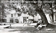Middleton Tower Holiday Camp - Club House (trainsandstuff) Tags: vintage postcard retro pontins holidaycamp middletontower