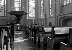 A quiet place (Ren Maly) Tags: blackandwhite bw film church monochrome md minolta 150 apx100 agfa expired xd7 middelburg 1835 onzelievevrouwe 35mmf18 adonal agfapan renmaly
