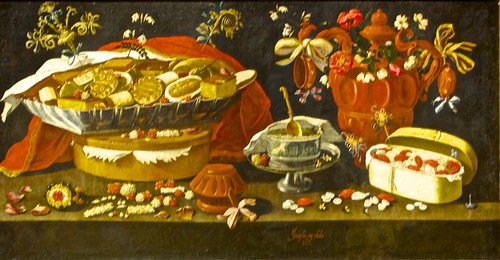 Still life with sweets and pottery (1676) - Josepha de Óbidos ( 1630 - 1684)