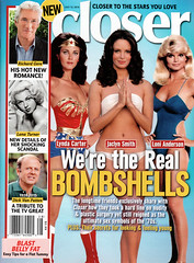 Closer, July 13 2015 (FranMoff) Tags: magazine wonderwoman lyndacarter closer bombshells jaclynsmith lonianderson